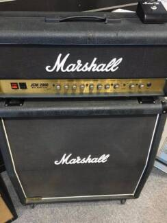 Marshall JCM2000 amp and JCM900 cab