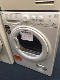 EX-DISPLAY HOTPOINT 8 KG HEAT PUMP TUMBLE DRYER A+ ENERGY RATING REF: 31554