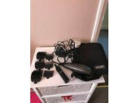 WAHL CLIPPER HAIRCUTTING KIT USED