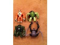 4 of the BEN 10 characters (£1 each or all 4 for £3) *very good condition*