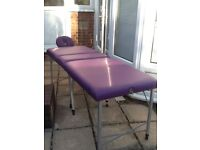 Darley massage table/couch and case