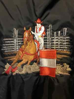 VINTAGE 1970s  RODEO BRONCO BUSTING  Patch Horse /& Cowboy