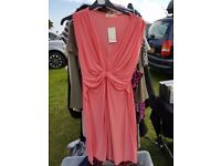 size 18 coral dress, brand new with tags £5, collection shoreham also have other ads up for sale