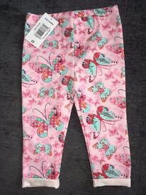 Baby Girls brand new with tags leggings