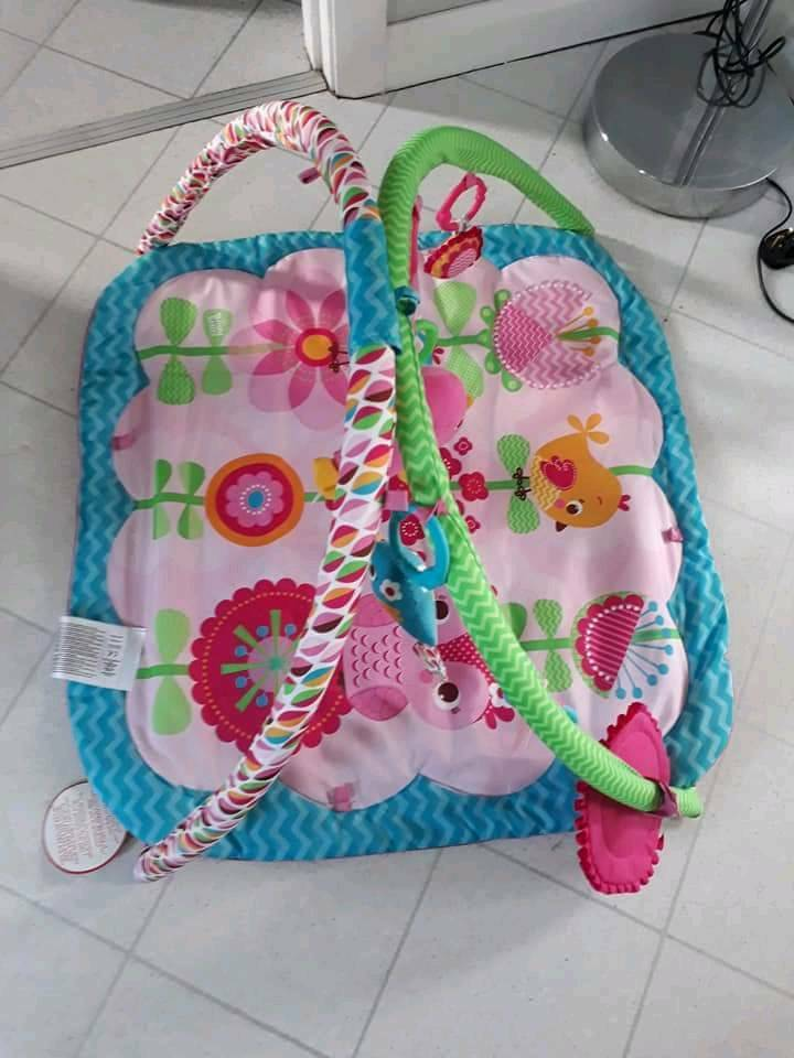 Baby's playmat