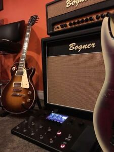 Bogner 20th anniversary head and 2x12 closed back cabinet