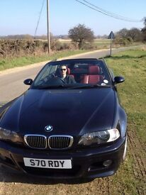 **STUNNING well looked after low miles BMW E46 M3 Convertible with all the extras. Please Read **