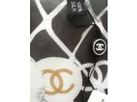 Chanel 100% silk scarf BNWT