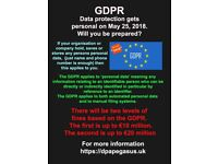 GDPR - Is your Company or Club Ready