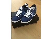 Brand New Converse Trainers still boxed never been worn. Size 7 tight fit. Probably suit size6