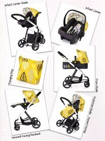 Cosatto Giggle oaker travel system