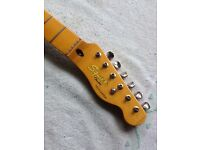 Squier classic vibe telecaster guitar neck