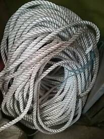 20mm 3 strand nylon rope