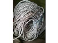 20mm 3 strand nylon rope