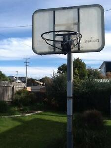 Free standing basketball hoop. Shearwater Latrobe Area Preview