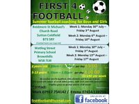 Halfterm football camps
