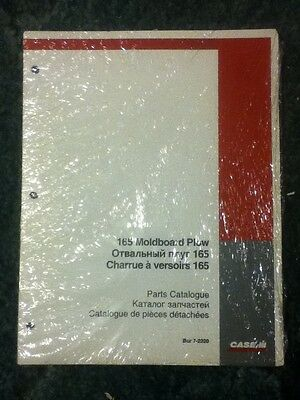 7-2220 - A New Parts Catalog For A Caseih 165 Moldboard Plow