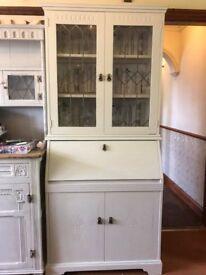 Elegant Bureau Bookcase / Cabinet / Bookcase