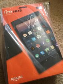 Amazon Fire HD8 with Alexa - 32GB black