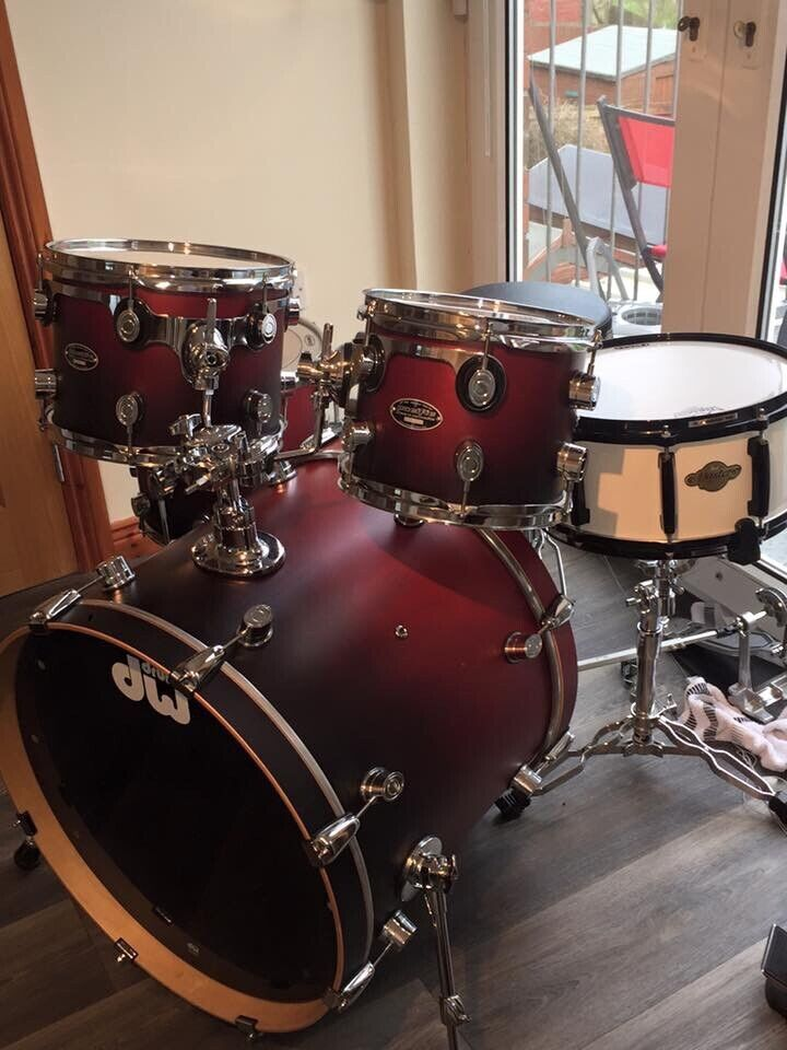 PDP Drum Kit with Pearl Masters Snare Drum  Hardware included | in Larne,  County Antrim | Gumtree