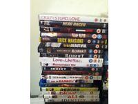 DVDS MIXED GENRES HORROR, KIDS, ADVENTURE ETC