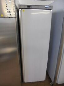 FREE SAME-DAY DELIVERY - Saro Commercial Fridge Single Upright White Chiller