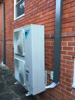 ducted air conditioner supply and installed
