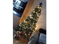 Christmas Tree with Decorations 6ft tall ***£10***