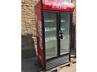 cola fridge double