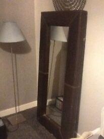 Grey lamp and base