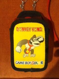 Gameboy Color Donkey kong game Holder