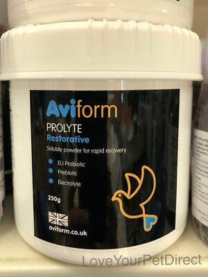 Aviform Prolyte Pigeon Probiotic Prebiotic Racing Pigeons Rapid Recovery BMFD