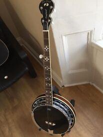 5-String Tanglewood Banjo