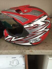 Medium size mx helmet