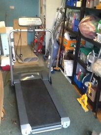 Treadmill, assembled but never used.