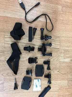 job lot Action Camera Accessories bike Mounts Straps Etc GO-PRO Compatible