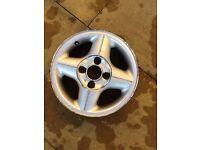 Genuine Ford Fiesta or Ka 14 Inch Alloy Wheel