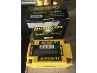 Motorbike battery, motobatt mbtx9u brand new in box
