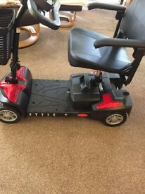 For Sale - brand new, unused, Style + Mobility Scooter from Lloyd's Pharmacy.
