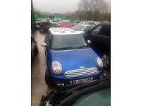 2011 mini parts breaking choice of 12