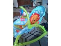 Fisherprices baby rocker and swing