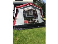 Driveaway awning in good condition collection only open to offers