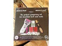 Micro Pedi Pampering Kit BNIB