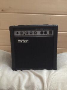Rocker Music Tools Guitar Amp With Microphone