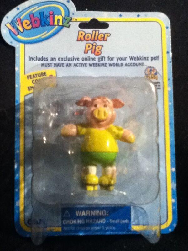 Webkinz Roller Pig Figure