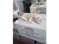Silver sandal size 7