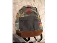 Mens River Island Backpack