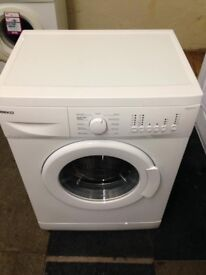 white beko 5kg 1000 spin washing machine