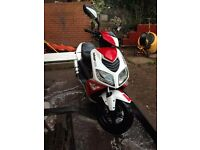 Wasp wk 125 four stroke like new low miles may swap or part ex or sell