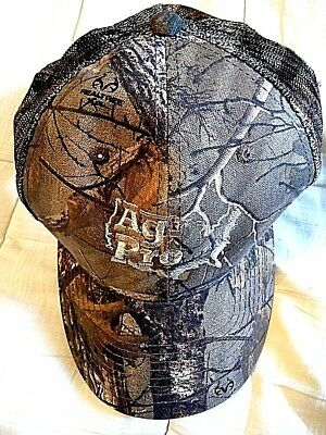 REALTREE XTRA BALL CAP Hat Camo Camouflage Green Adjustable Mesh Back Ag-Pro (Camouflage Pro Mesh Cap)